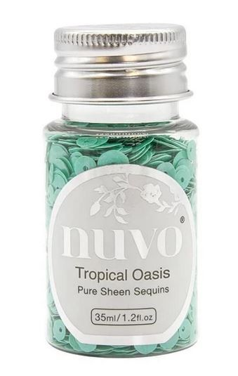 Tonic Studios - Nuvo Pure Sheen Confetti Sequins - Tropical Oasis
