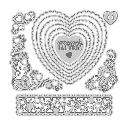 Tonic Studios - Cutting Die - Someone Special Essentials Die Set (set of 12 dies)
