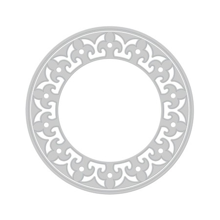 Tonic Studios - Cutting Die - Florid Circle Indulgence Die Set (set of 2 dies)