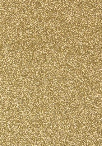 "Tonic Studios - Craft Perfect Cardstock - 5 sheets Glitter Gold Dust 8.5""x11"""