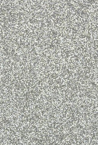 "Tonic Studios - Craft Perfect Cardstock - 5 sheets Glitter Silver Screen 8.5""x11"""
