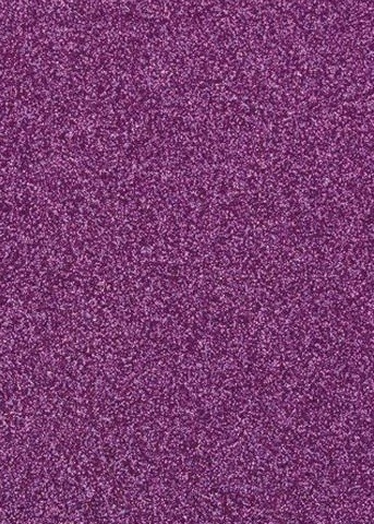 "Tonic Studios - Craft Perfect Cardstock - 5 sheets Glitter Nebular Purple 8.5""x11"""