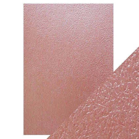 "Tonic Studios - Craft Perfect Luxury Embossed Cardstock - A4 Rose Glacier (8.25""x11.75"")"