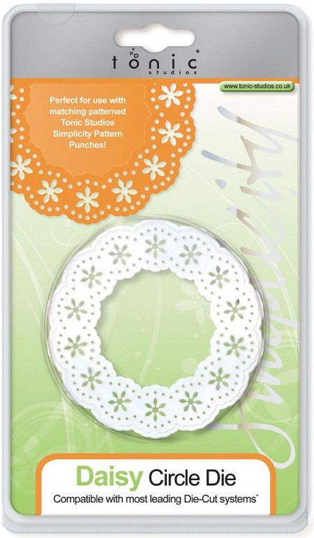 Tonic Studios - Simplicity Die Cutting Templates - Daisy Circle