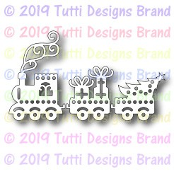 Tutti Designs - Cutting Die - Christmas Train