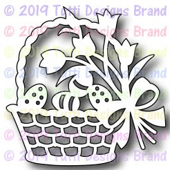 Tutti Designs - Cutting Die - Egg Easter Basket