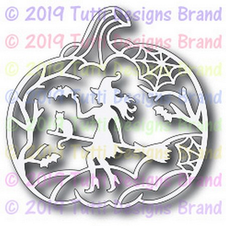 Tutti Designs - Cutting Die - Witch Scene
