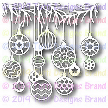 Tutti Designs - Cutting Die - Festive Ornaments