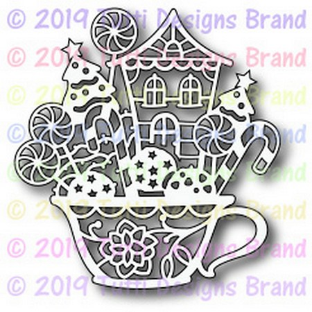 Tutti Designs - Cutting Die - Holiday In A Cup