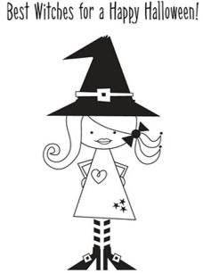 Unity Rubber Stamp Set - Best Witches