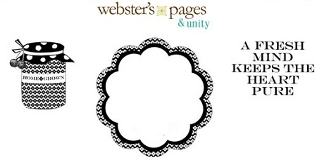Unity Cling Rubber Stamp Set - Webster's Pages Homegrown