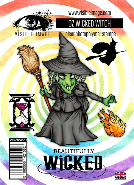 Visible Image - Clear Stamp -  OZ Wicked Witch