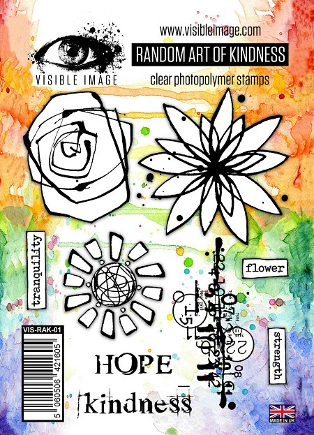 Visible Image - Clear Stamp -  Random Art of Kindness