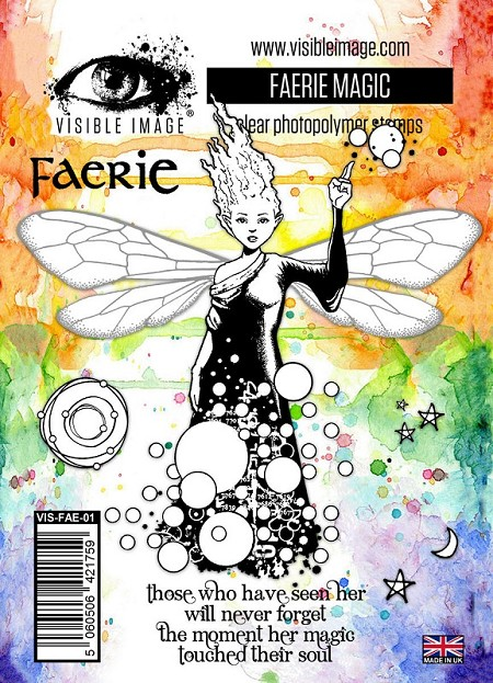 Visible Image - Clear Stamp - Faerie Magic