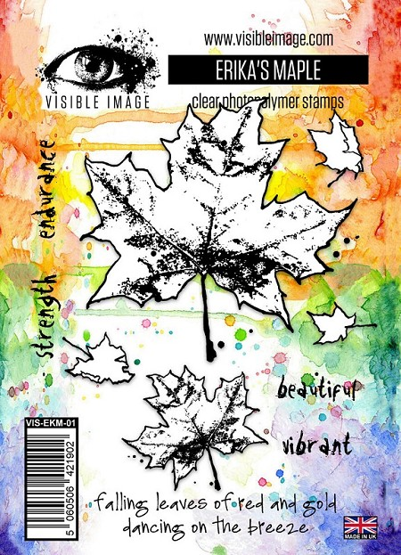 Visible Image - Clear Stamp - Erika's Maple