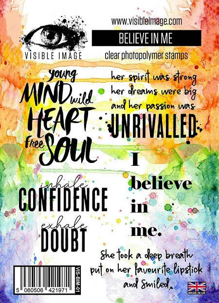 Visible Image - Clear Stamp - Believe in Me Stamp Set