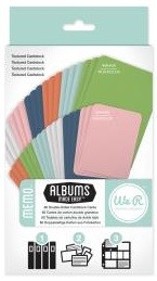 We-R-Memory Keepers - Albums Made Easy - Memo Cardstock Cards :)