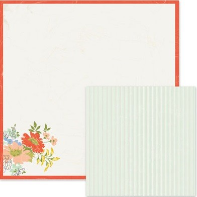 "We-R-Memory Keepers - Farmers Market Collection - 12""x12"" Double Sided Cardstock - Traditional (Full pack of 12 sheets)"