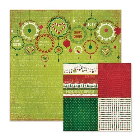 We R Memory-Peppermint Twist-Paper-Ornamental