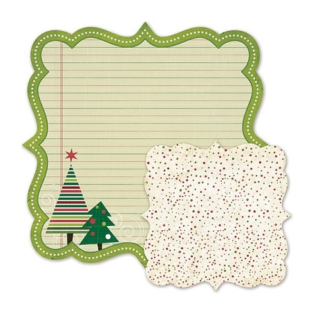 We R Memory-Peppermint Twist-Die Cut Paper-Dear Santa