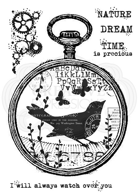 Woodware Craft - Clear Stamp - Nature Watch