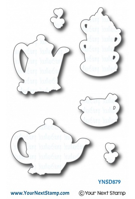 Your Next Stamp - Dies - Holiday Tea