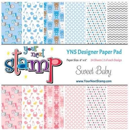Your Next Stamp - 6x6 Paper Pad - Sweet Baby