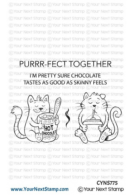 Your Next Stamp - Clear Stamp - Purrr-fect Together