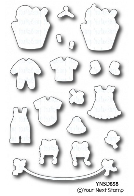 Your Next Stamp - Dies - Baby Clothes