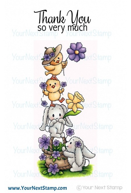 Your Next Stamp - Clear Stamp - A Cute Stack