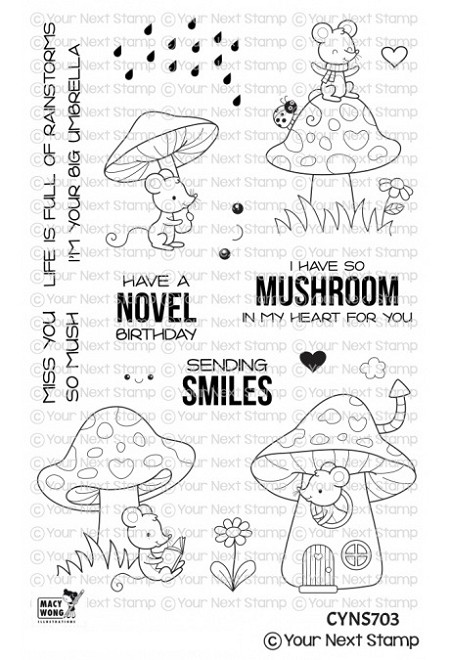 Your Next Stamp - Clear Stamp - So Mush Fun