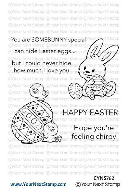 Your Next Stamp - Clear Stamp - Easter Love