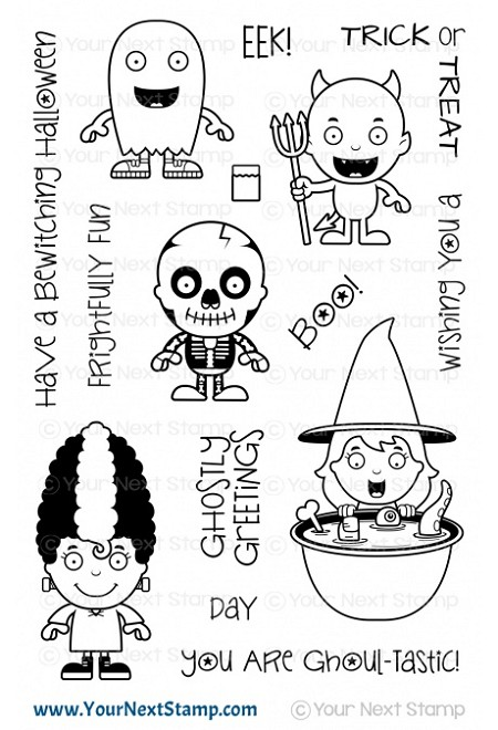 Your Next Stamp - Clear Stamp - Ghoul-tastic Halloween